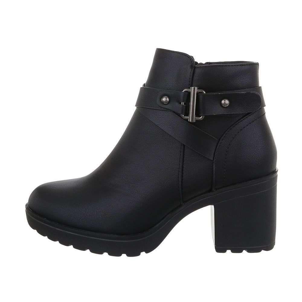 Členkové dámske topánky - 38 EU shd-okk1366bl