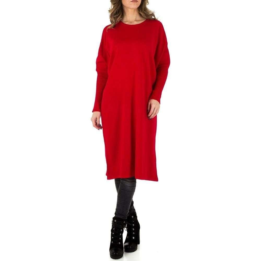Dámské dlouhé úpletové šaty EU shd-sat1001re