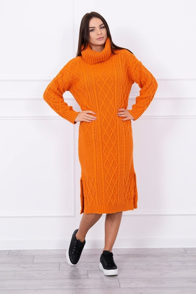 Dámske pletené šaty Kesi ks-saS8481or