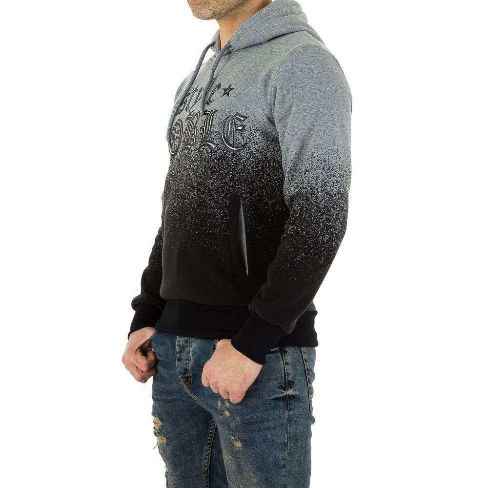 Pánska mikina s kapucňou - XXL/44 EU shp-mi1011gr