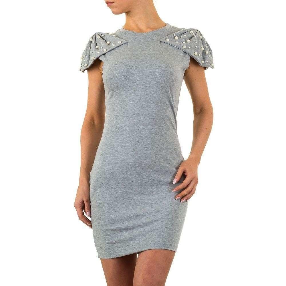 Úzké šaty s perličkami EU shd-sat1016gr