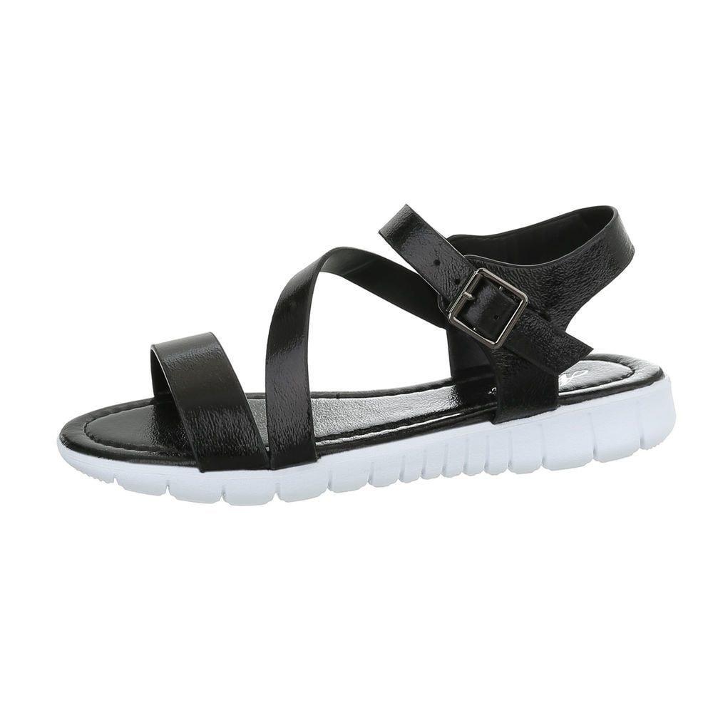 Dámske letné sandálky čierne - 40 EU shd-osa1163bl