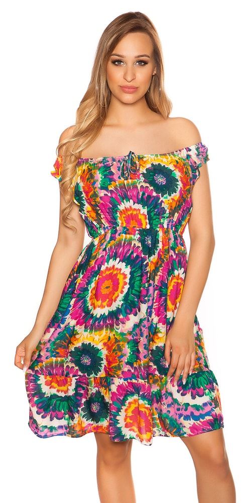 Letní šaty - S/M Koucla in-sat2055pi