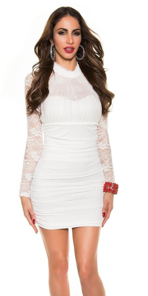 Mini dámske párty šaty - M/L Koucla in-sat1141cr