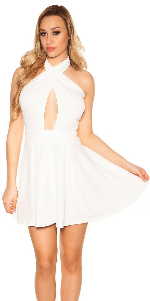 Sexy šaty do spoločnosti - L Koucla in-sat1021wh