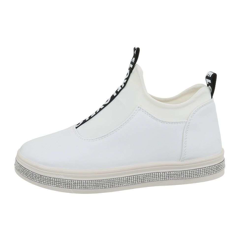 Bílé dámské sneakers EU shd-osn1254wh