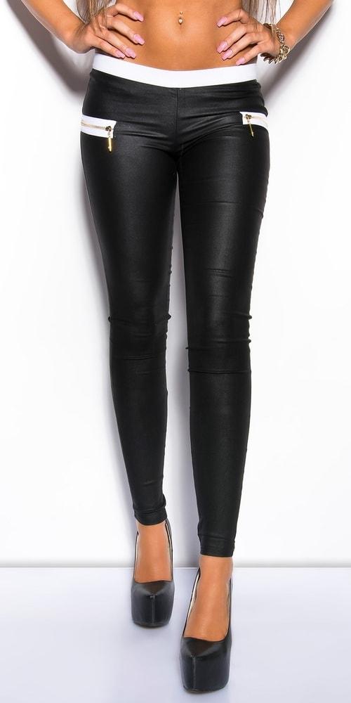 Čierne dámske nohavice - XL Koucla in-ka1136bl
