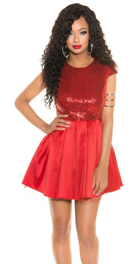 Krátke plesové šaty - 38 Koucla in-sat1473re