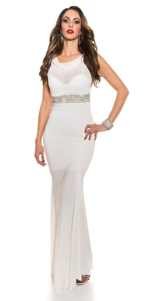 Krásne plesové šaty Koucla in-sat1203wh