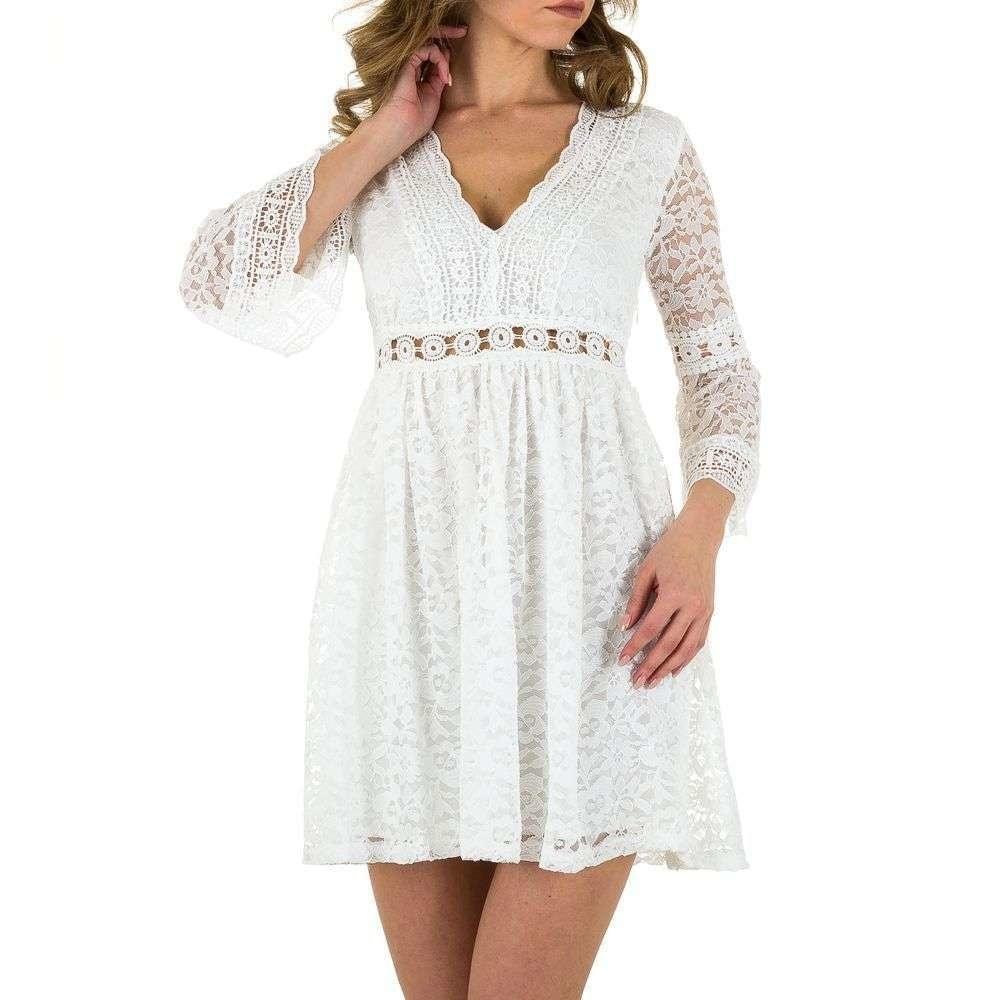 Krajkované šaty - L/40 EU shd-sat1009wh