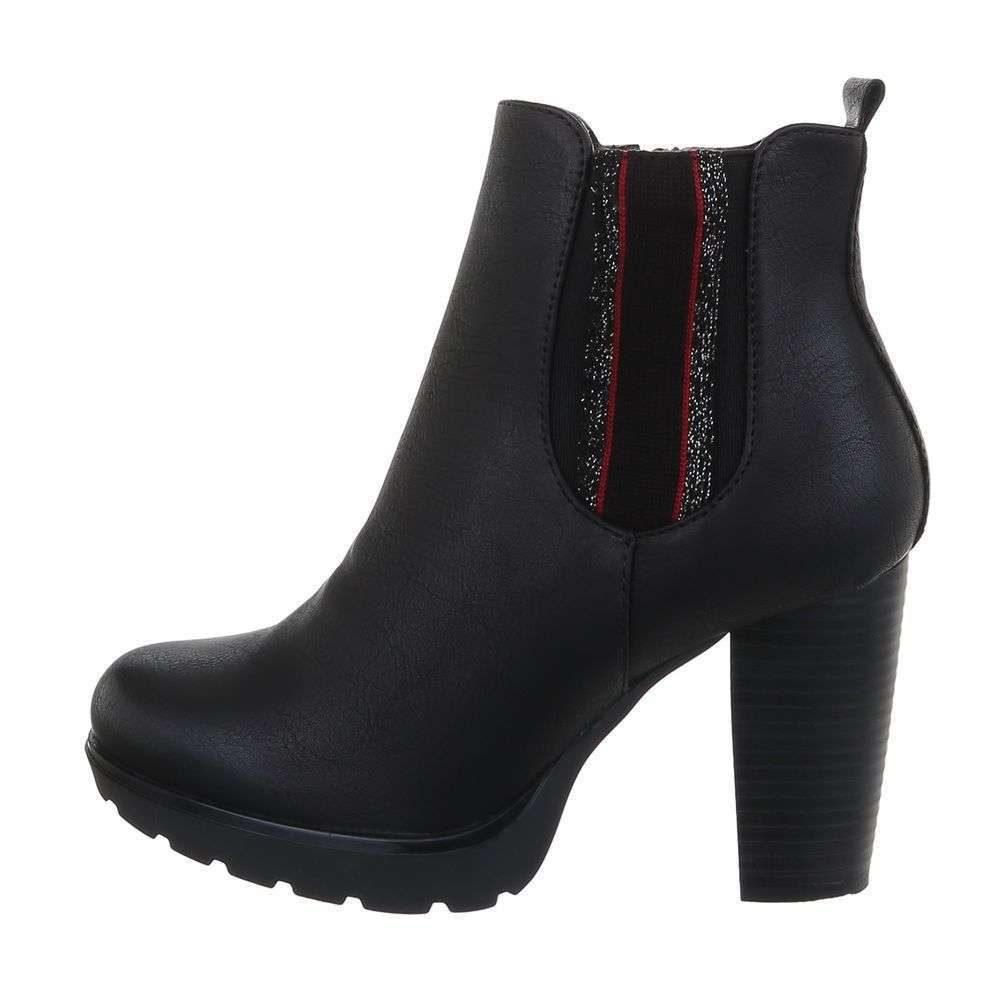 Kotníková obuv na podpatku - 39 EU shd-okk1333blm