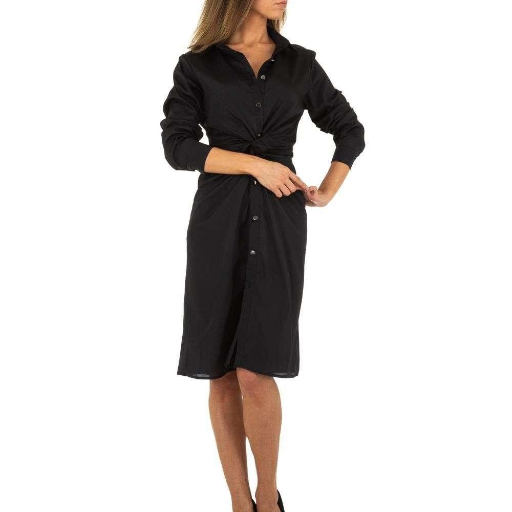 Dámske šaty s dlhým rukávom - M/38 EU shd-sat1085bl