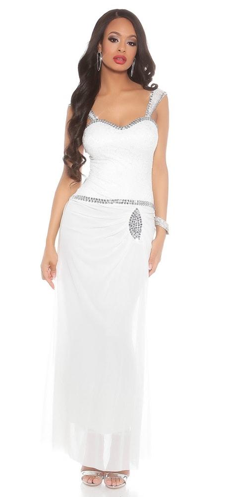 Večerné dlhé šaty - L Koucla in-sat1484wh