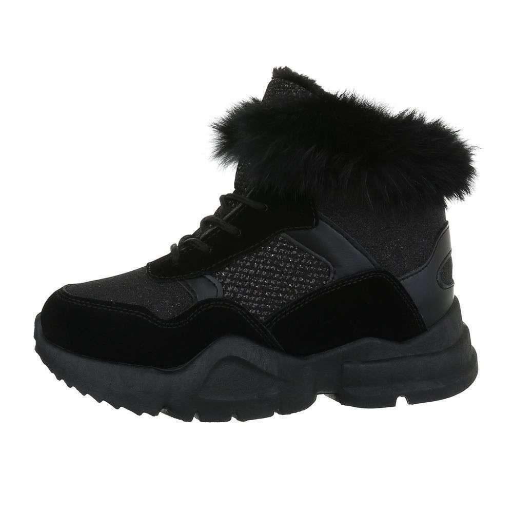 Zimné dámske topánky - 38 EU shd-okk1287bl