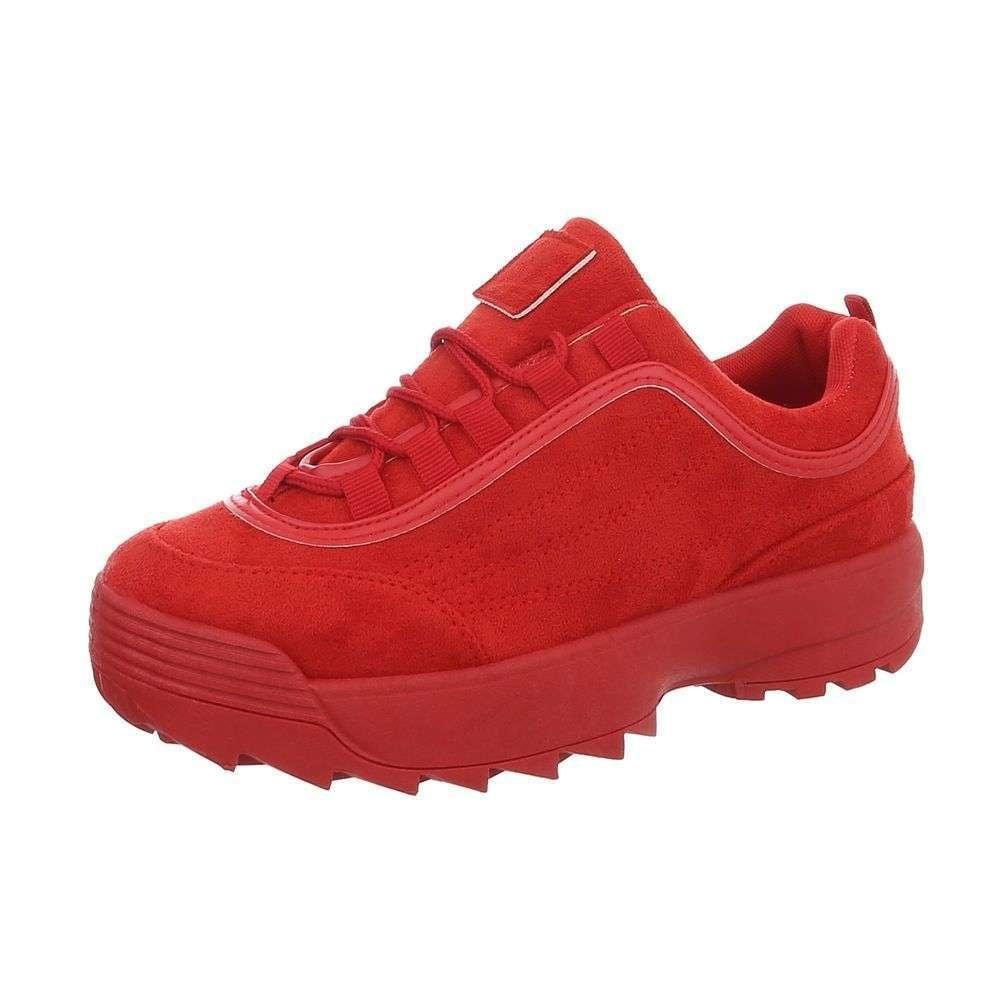 Dámske tenisky červené - 37 EU shd-osn1134re