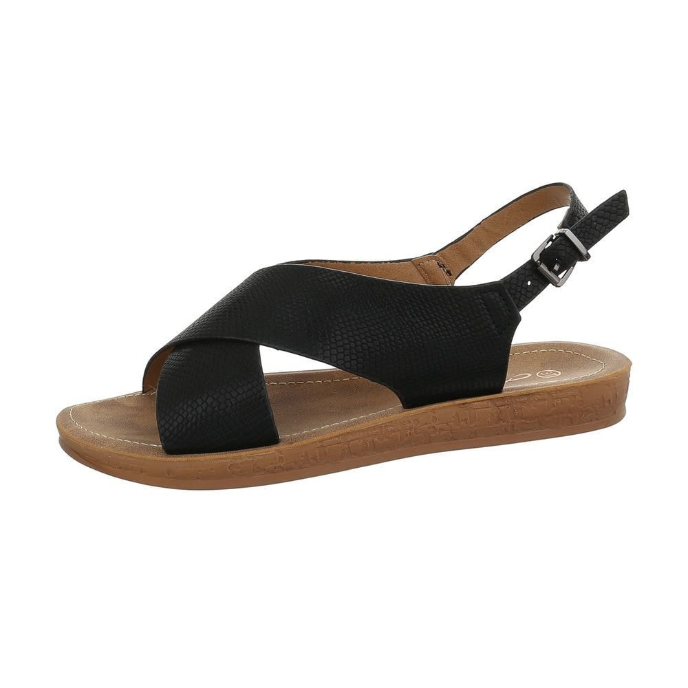 Letné sandále čierne - 37 EU shd-osa1156bl