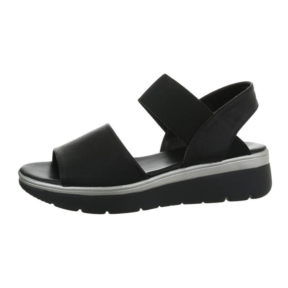 Čierne dámske sandále - 37 EU shd-osa1343bl