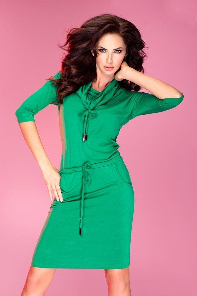 Dámske šaty zelené 44-5 Numoco nm-sat44ze