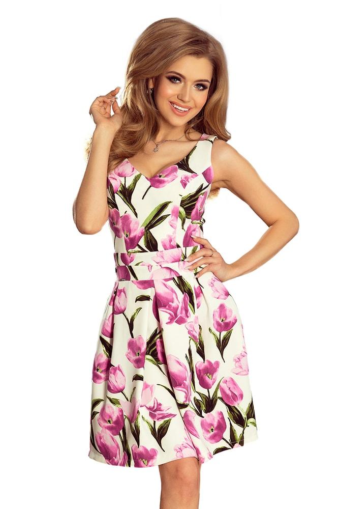 Elegantné letné šaty - XL Numoco nm-sat160-4