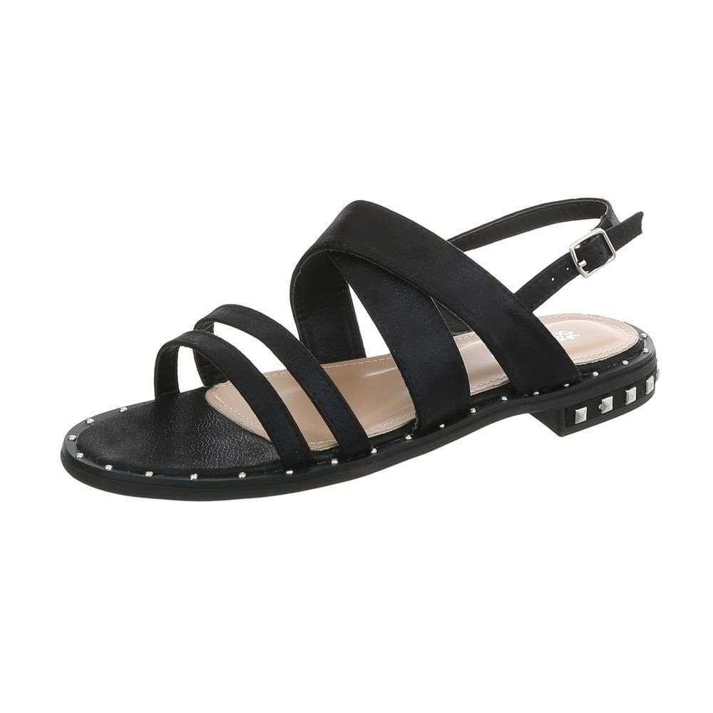 Čierne sandálky - 37 EU shd-osa1233bl