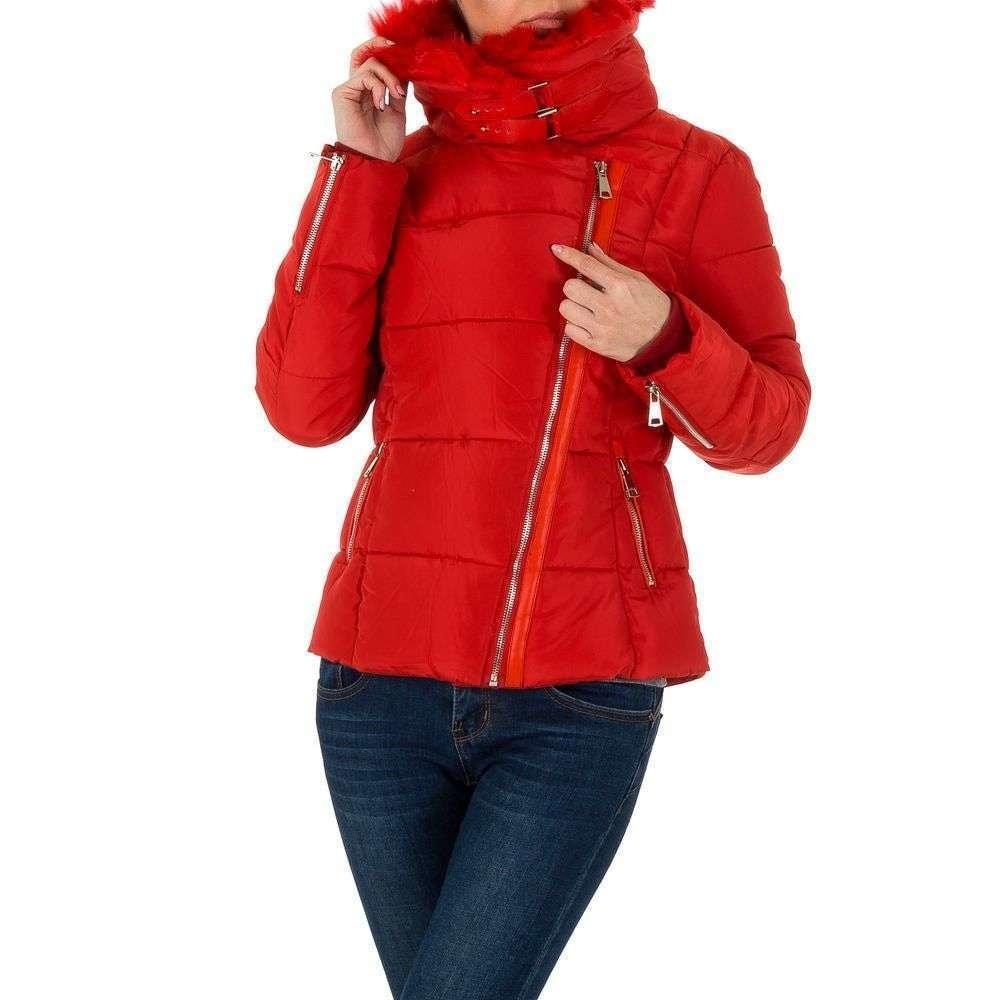 Zimní bunda červená EU shd-bu1006re
