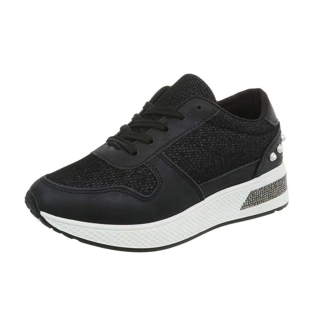Čierne dámske tenisky - 40 EU shd-osn1160