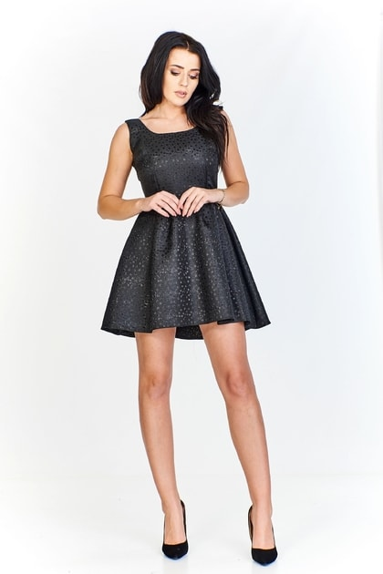 4a848c66074a Elegantné čierne minišaty - Ptakmoda - Večerné šaty a koktejlové šaty -  vasa-moda.sk