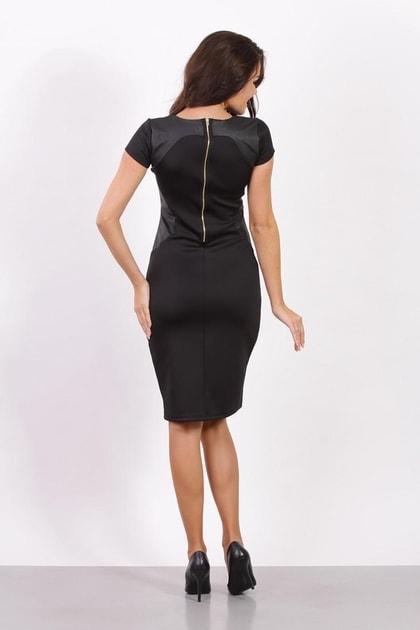 a12f6f4a81a8 Dámské business šaty černé - Fashion H. - Večerní šaty a koktejlové šaty -  i-moda.cz