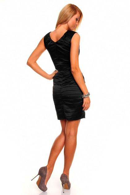 38a9ad2762cb Šaty do společnosti černé - Mayaadi - Večerné šaty a koktejlové šaty - vasa -moda.sk