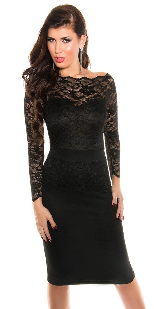 8f2427772606 Spoločenské šaty s dlhými rukávmi - Koucla - Večerné šaty a ...
