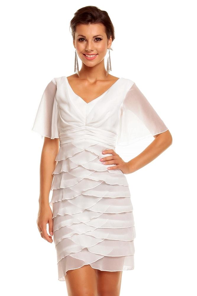 a69e96a00afc Dámské volánové šaty - Mayaadi - Večerní šaty a koktejlové šaty - i ...