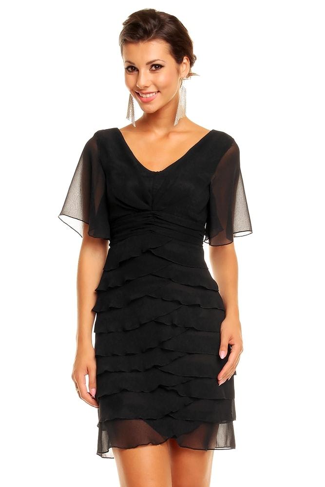 d20473ecf072 Večerné šaty s volánmi - Mayaadi - Večerné šaty a koktejlové šaty ...