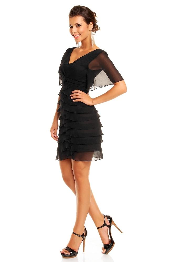 ce2f799539a3 Večerní šaty s volány - Mayaadi - Večerní šaty a koktejlové šaty - i ...