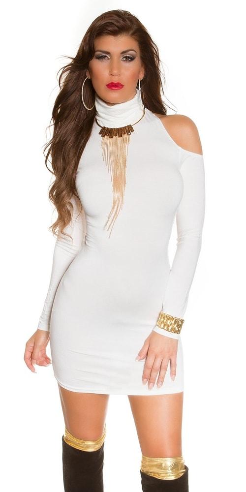 804a7ee3fc2c Sexy minišaty biele - Koucla - Párty šaty - vasa-moda.sk