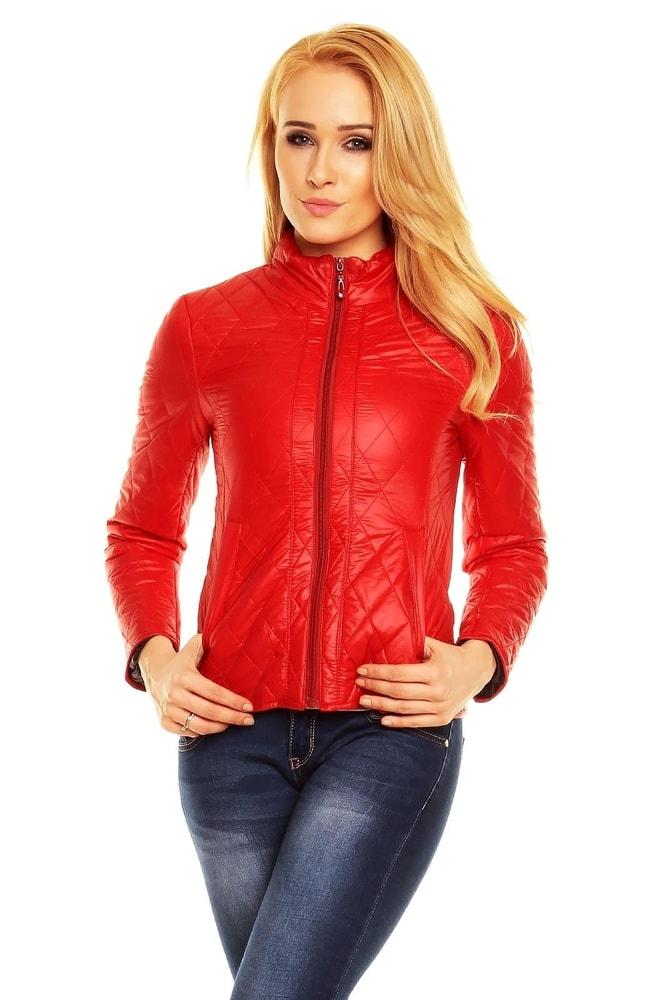 cccd2377d29a Červená dámská bunda. Domů ›  Dámské oblečení ›  Dámské bundy ›  Bundy  dámské jarní a podzimní › ...