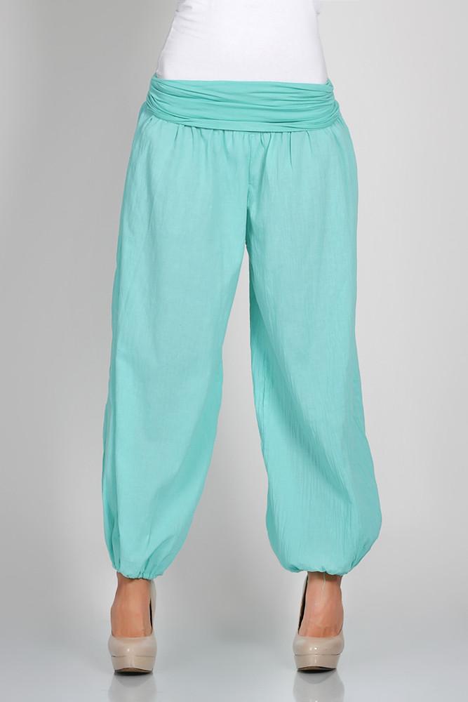 0eda9ab38330 ... Dámske nohavice ›  Letní kalhoty - aladinky · modré kalhoty