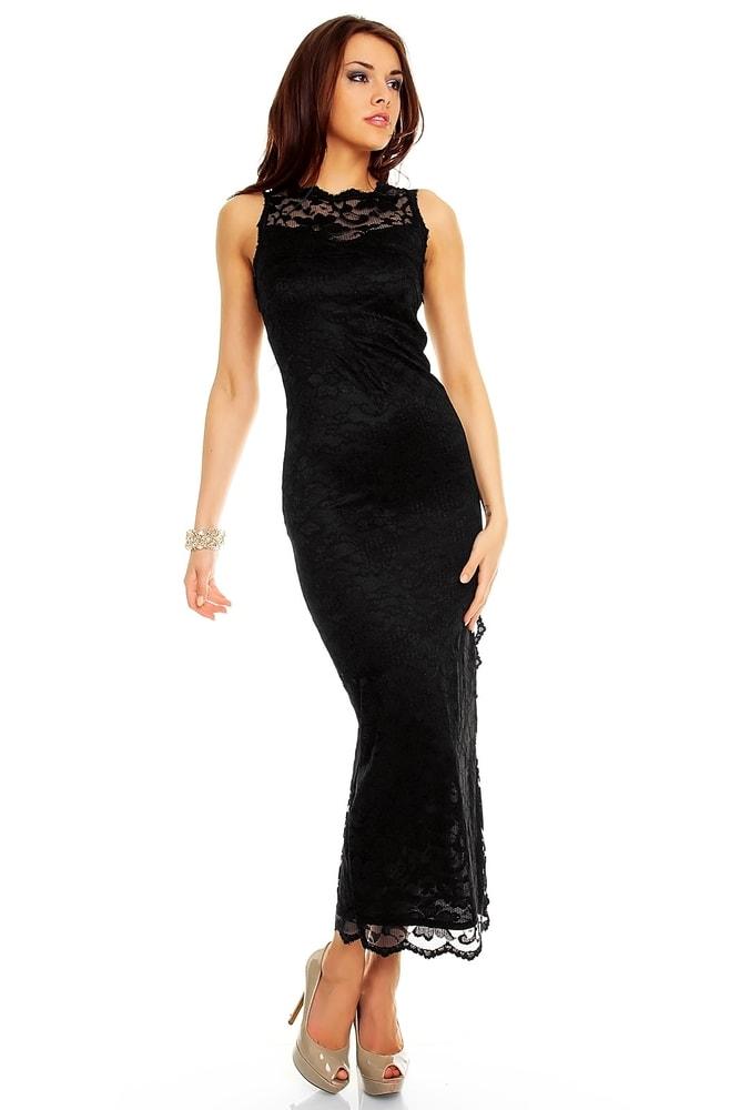 6a6f190a2bda Večerné dlhé krajkové šaty - Mayaadi - Večerné šaty a koktejlové šaty ...