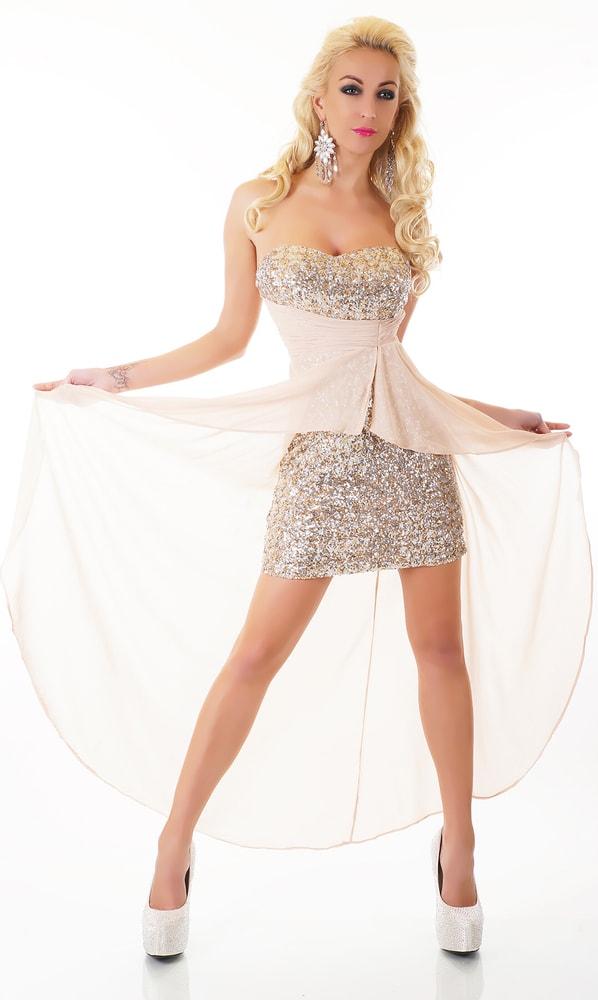 797129c3cb0e Plesové krátke šaty - EU - Krátke plesové šaty - vasa-moda.sk