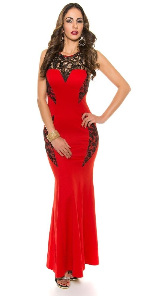 e8770ce42 Dlhé spoločenské šaty - Koucla - Večerné šaty a koktejlové šaty - vasa ...