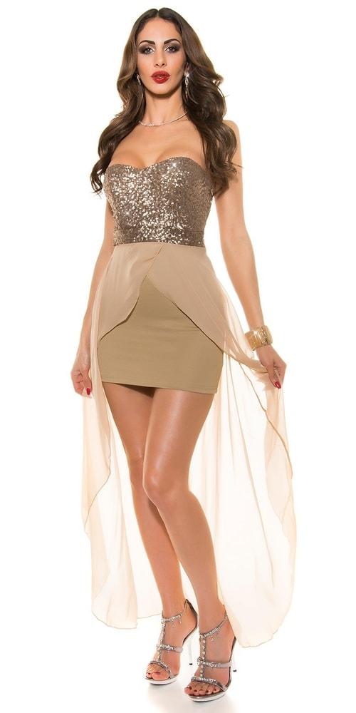 40a34b44b9ca Krátke plesové šaty - Koucla - Večerné šaty a koktejlové šaty - vasa ...