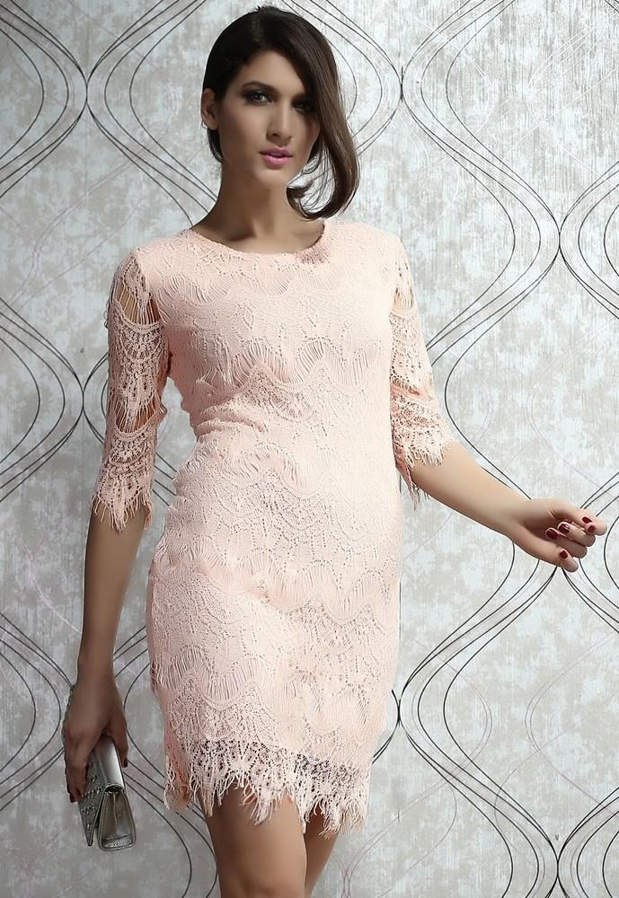 c85b57ffc901 Luxusné čipkované šaty - DAMSON - Večerné šaty a koktejlové šaty ...
