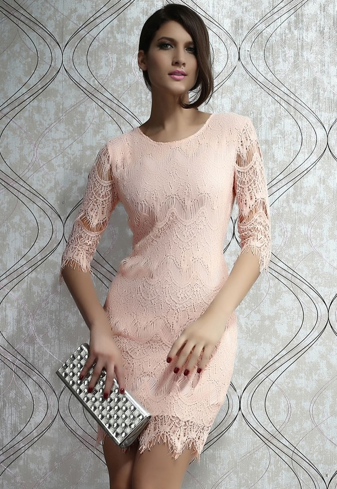 4b0745b00e97 Luxusné čipkované šaty - DAMSON - Večerné šaty a koktejlové šaty ...