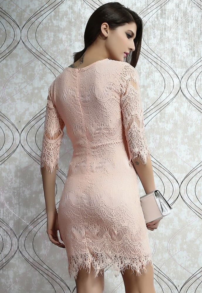 d08cdf2b66cd Luxusné čipkované šaty - DAMSON - Večerné šaty a koktejlové šaty ...