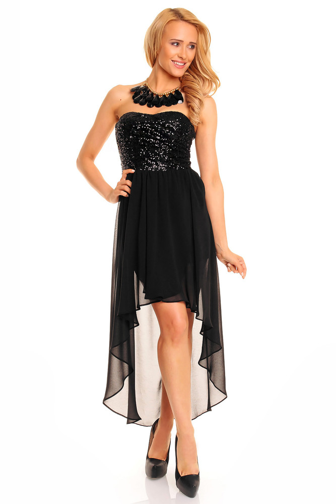 f72b4d5fef2b Čierne plesové šaty - Mayaadi - Večerné šaty a koktejlové šaty - vasa ...