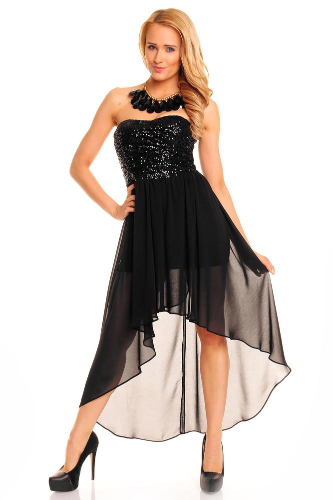 edf10fb6f68a Čierne plesové šaty - Mayaadi - Večerné šaty a koktejlové šaty ...