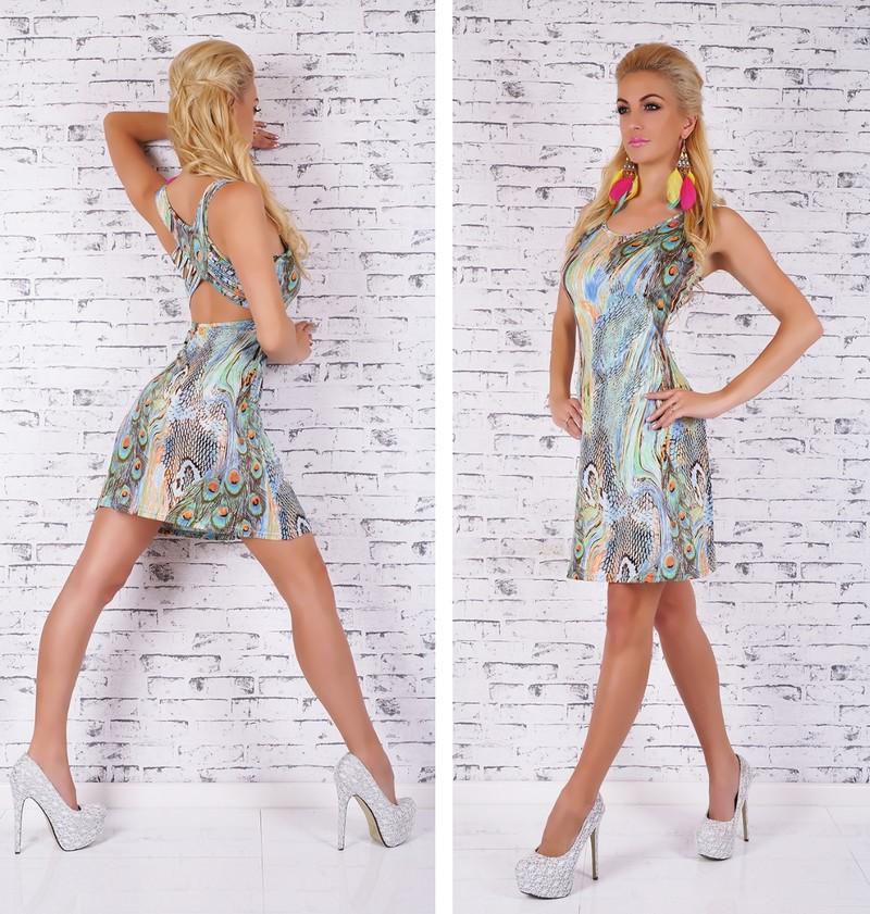 f7b23522078e Letní šaty krátké - EU - Krátké letní šaty - i-moda.cz