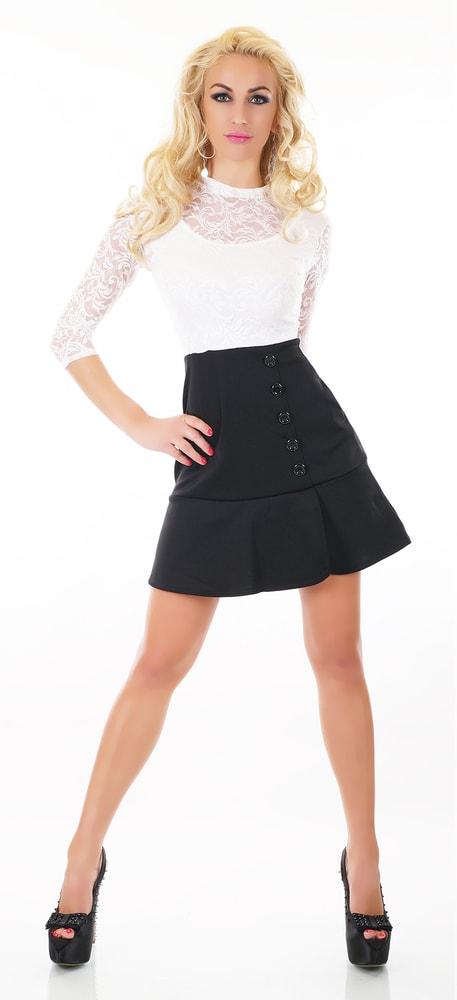 92700902a394 Čiernobiele dámske šaty - EU - Večerné šaty a koktejlové šaty - vasa ...