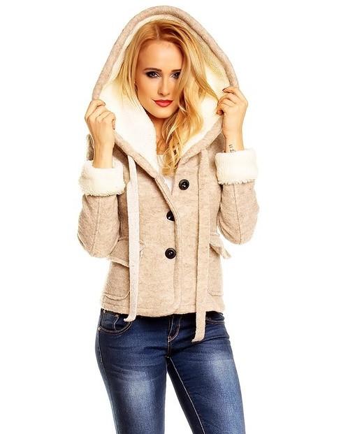 984eba7c23 Krátký vlněný kabátek. Domů ›  Dámské oblečení ›  Dámské kabáty › ...