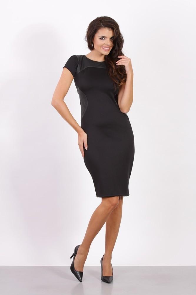 97e827654d59 Dámské business šaty černé - Fashion H. - Večerní šaty a koktejlové ...