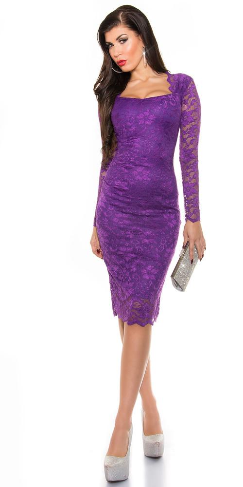 30d228767a2b Fialové večerní šaty - Koucla - Večerní šaty a koktejlové šaty - i ...